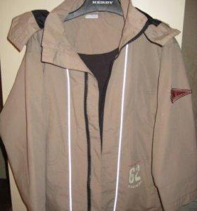 Детская  куртка  на хлопковой подкладке