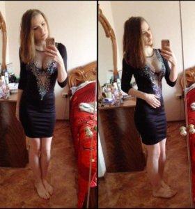 Платье со стразами ✨💫🌟