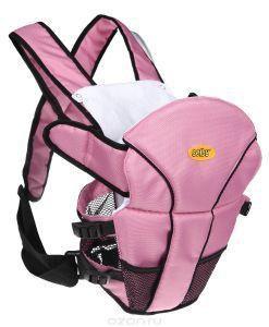 Рюкзак-кенгуру Selby luxe (розовый)