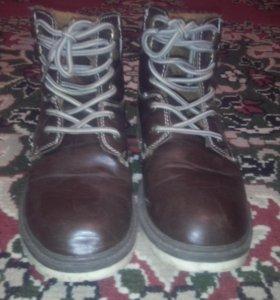 Осеннии ботинки