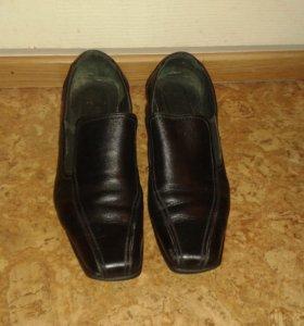 Туфли подростковые натуральная кожа