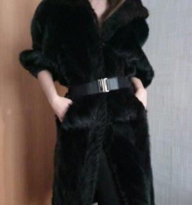 Шуба норковая,130 см