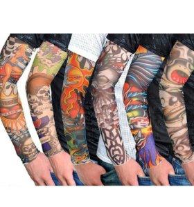 Рукав татуировка