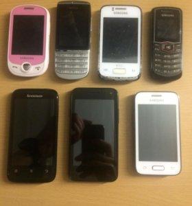 Продаю телефоны, цены разные
