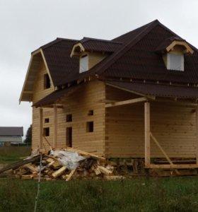 Строим дома из бруса