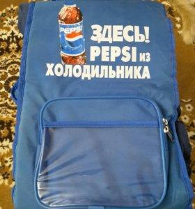 Рюкзак холодильник Пепси