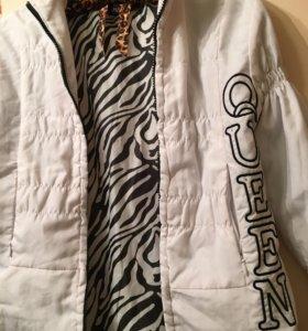 Куртка осенний для девочек 9-11 лет