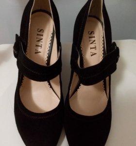 Туфли новые замша Sinta 38 р-р