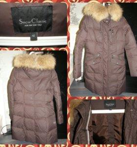 Зимнее женское пальто р.42