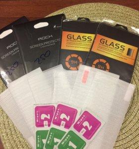 Защитное стекло на iPhone и AppleWatch