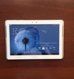 Планшет Samsung Galaxy tab 2 10.1 с чехлом