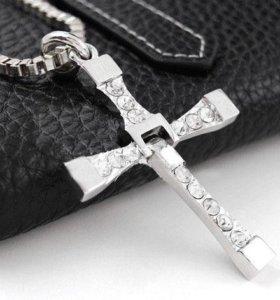 Новый кулон крест Торетто