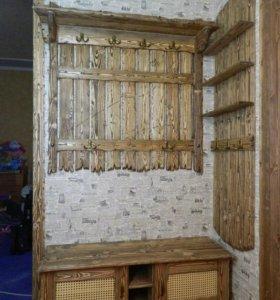 Искуственное старение древесины