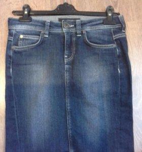 Джинсовая юбка CK
