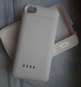Чехол аккумулятор для iphone 4, 4s