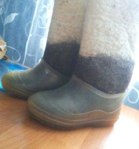Зимняя обувь две пары