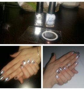 Лак для ногтей с зеркальным покрытием