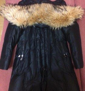 Зимнее тёплое женское пальто
