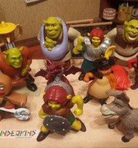 Набор игрушек из Макдональдса
