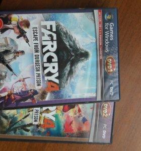 Диск Far Cry 4 на ПК