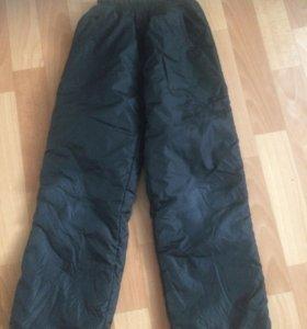 Зимние тёплые Болоневые штаны