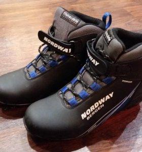 Лыжные ботинки. Новые