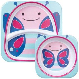 Skip Hop набор тарелок Бабочка