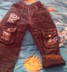 Продам утепленые джинсы