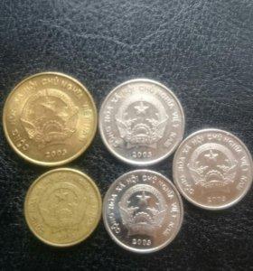 Монеты Вьетнама