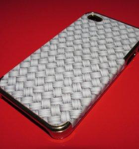 Пластиковый чехол (pad) на iphone 4/4S
