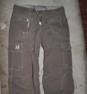 Спортивные джинсовые капри S