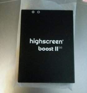 Большая батарея на Highscreen boost 2se
