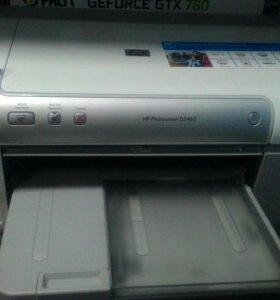 Фото принтер HP D5463