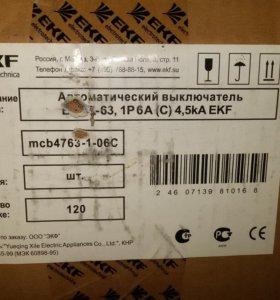 Выключатель автоматический EKF