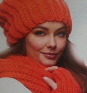 Новые Шапка и длинный шарф