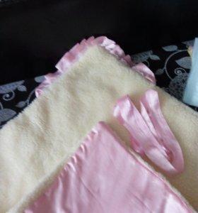 Одеялко детское+конверт