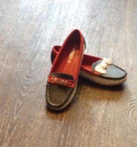 Ботиночки макасики