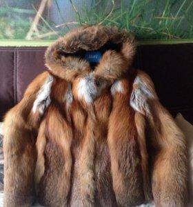 Шубка курточка лиса