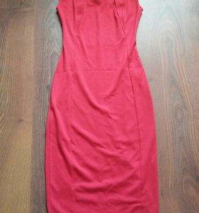 новое красное платье р42
