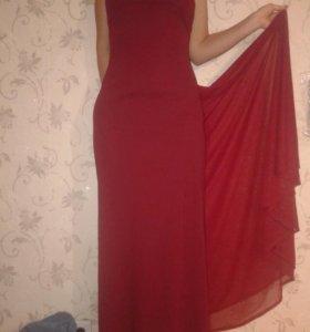 Платье в пол 44-46 (155-165