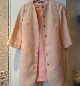 Комплект (платье+пальто )