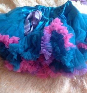 Пышная юбка на 4-6 лет