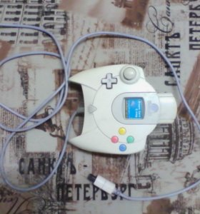 """Джойстик от приставки """"SEGA Dreamcast""""."""