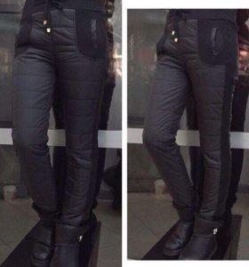 Тёплые брюки зимние