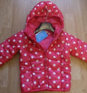 Куртка для девочек на синтепоне, р-р 104