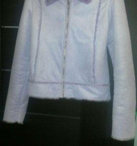Дубленка куртка женская 42-44