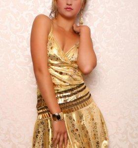 Клубное платье размер 42-46
