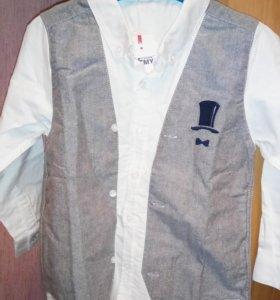 Модная детская рубашка
