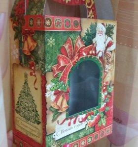 """Подарочная коробка """"Новый год"""""""