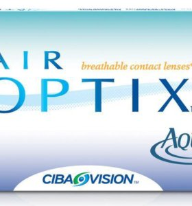 Линзы Air Optix 6 штук, -9,5